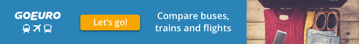 Compare buses, trains and flights