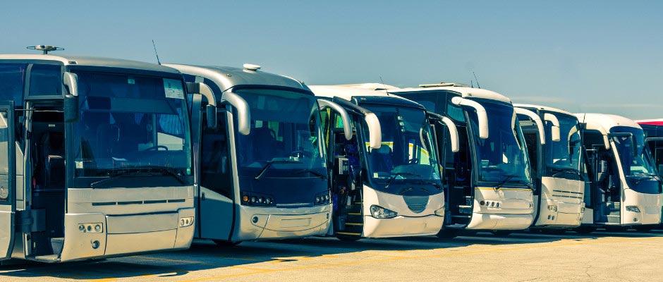 Verschillende bussen naar Parijs