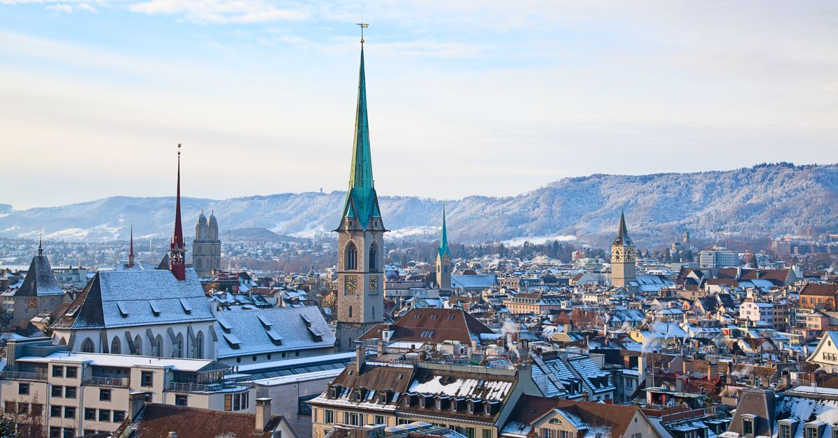 De Krefeld vers Zurich - Zurich -