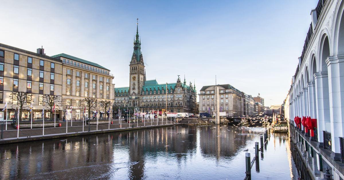 De Radom vers Hambourg - Hambourg -
