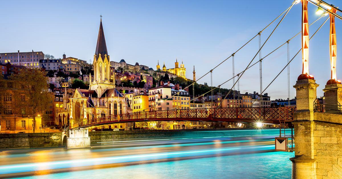 Transports pour aller de Karlsruhe vers Lyon - Lyon -
