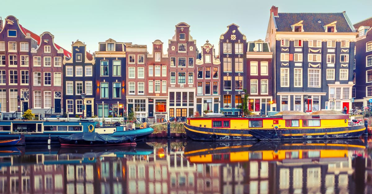 Transports pour aller de Exeter vers Amsterdam - Amsterdam -