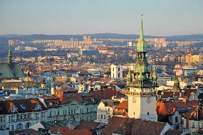 Vlakem z Prahy do Brna