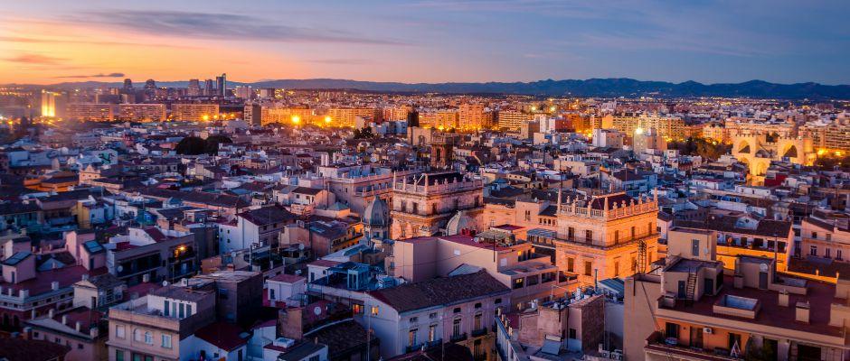 Barcelona nach valencia