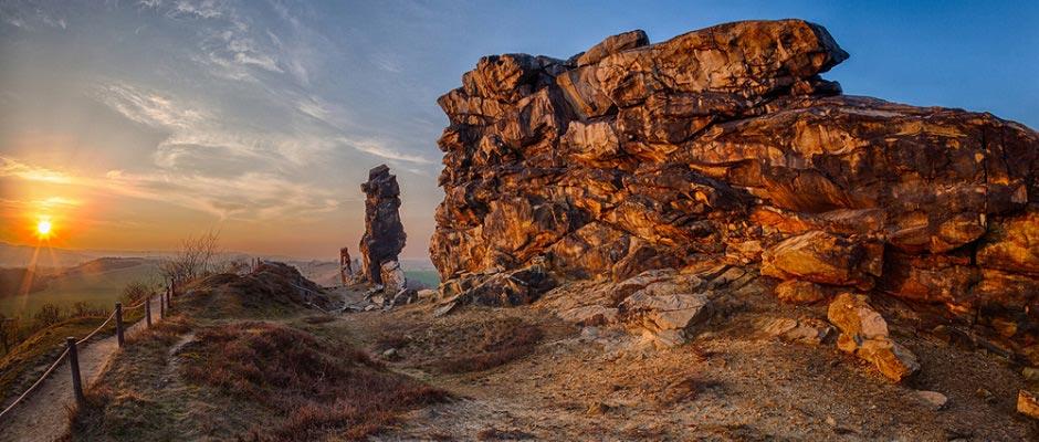 Felsen Harz