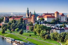 Pociąg z Warszawy do Krakowa