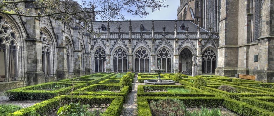 Tuin Domkerk in Utrecht