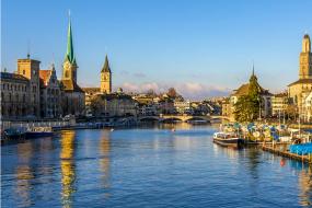 Flug Salzburg - Zürich