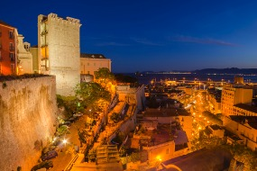 voli Blue Panorama da Roma a Cagliari