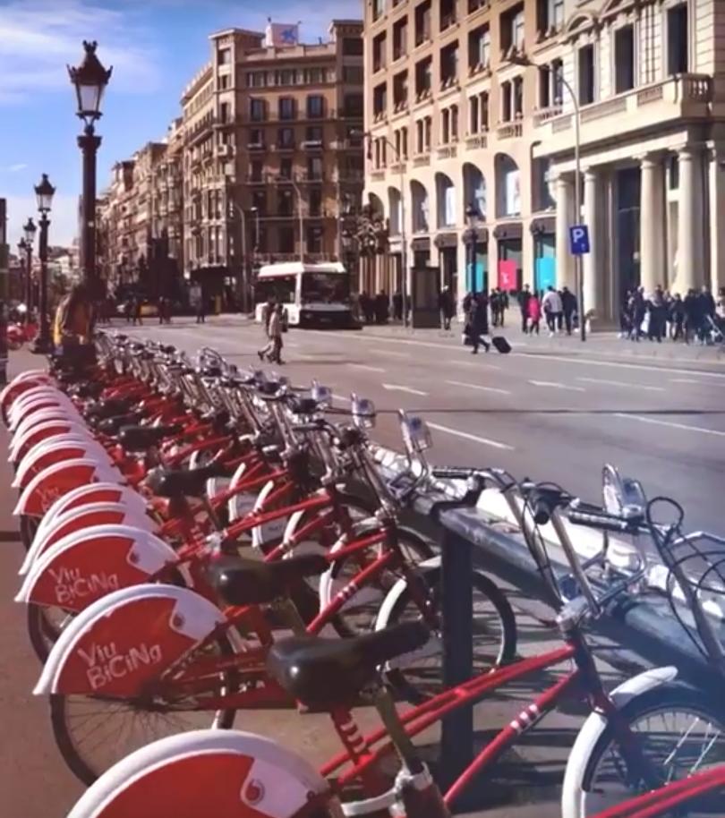 Fahrrad in Barcelona