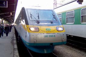 Vlak Pendolino provozovatele ČD