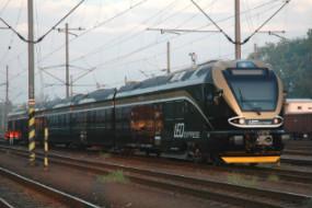 Vlak provozovatele Leo Express