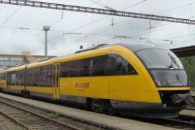 Vlak provozovatele RegioJet