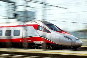 trem rápido na Europa