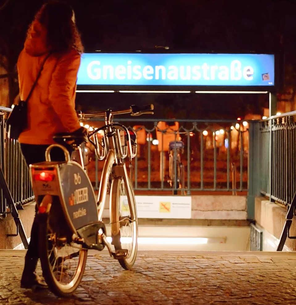 Fahrrad U-Bahn Berlin