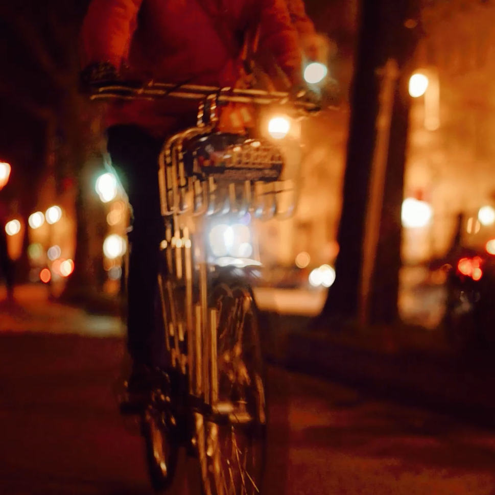Fahrrad Berlin Nacht