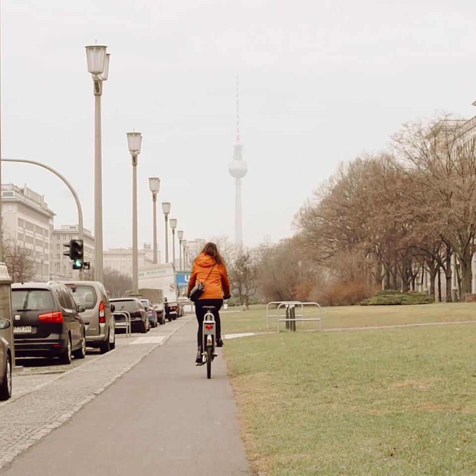 Fahrradstreifen Berlin